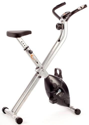 Avis V-Fit MXC1 Vélo d'appartement magnétique et pliable avec cadre en X