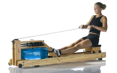 WaterRower Natural Rowing Machine Ash Wood S4 with monitor small3