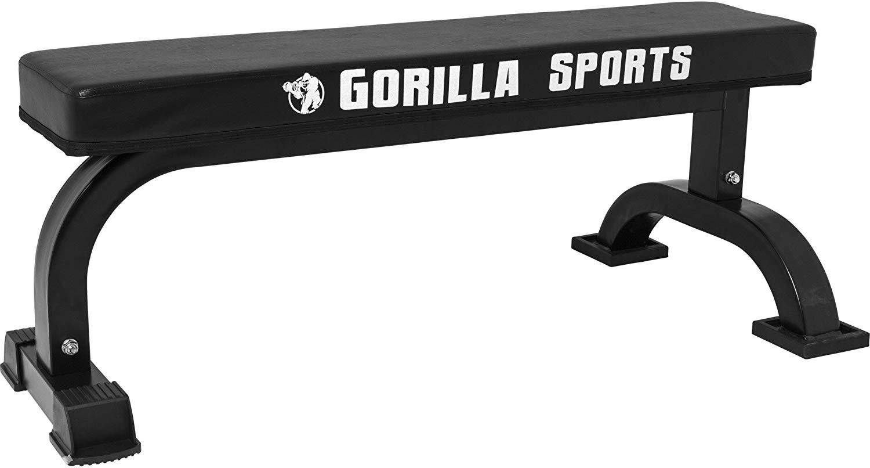 Banc de musculation stable Gorilla Sports